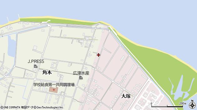 大分県中津市大塚861周辺の地図