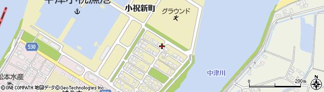 大分県中津市小祝新町56周辺の地図