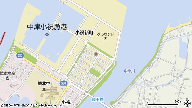 大分県中津市小祝新町55周辺の地図