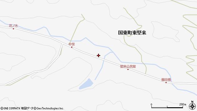大分県国東市国東町東堅来2097周辺の地図