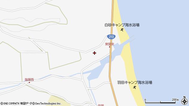 大分県国東市国東町東堅来192周辺の地図