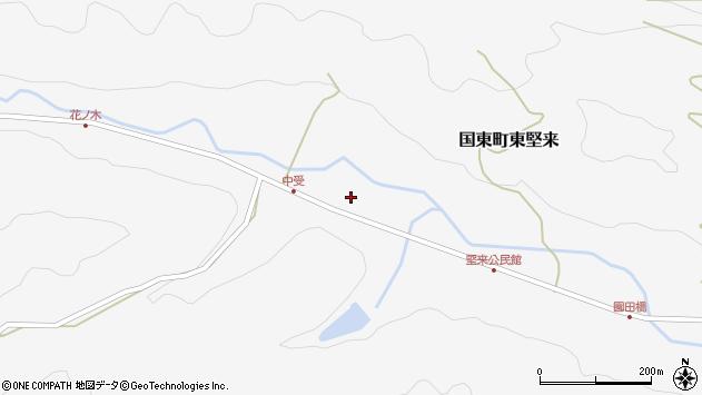 大分県国東市国東町東堅来2078周辺の地図