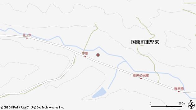大分県国東市国東町東堅来2072周辺の地図