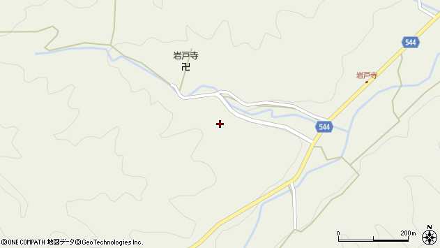 大分県国東市国東町岩戸寺995周辺の地図