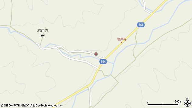 大分県国東市国東町岩戸寺1291周辺の地図