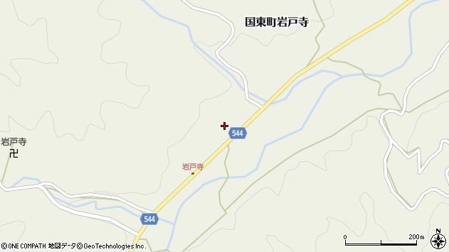 大分県国東市国東町岩戸寺1444周辺の地図