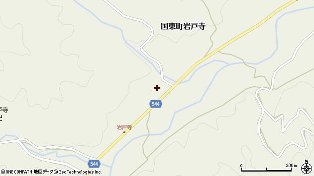大分県国東市国東町岩戸寺1431周辺の地図