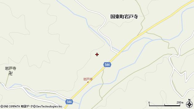 大分県国東市国東町岩戸寺1461周辺の地図