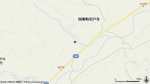大分県国東市国東町岩戸寺1480周辺の地図