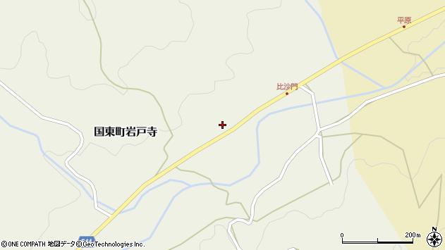 大分県国東市国東町岩戸寺2304周辺の地図