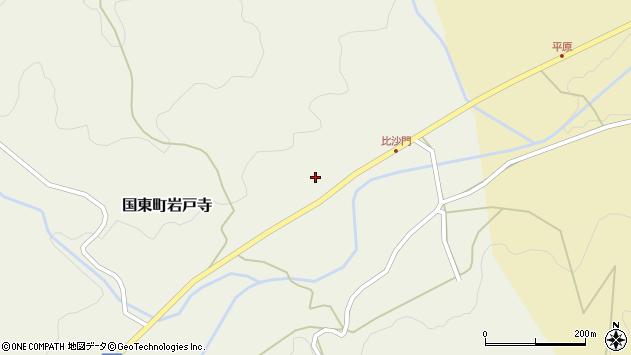 大分県国東市国東町岩戸寺2308周辺の地図