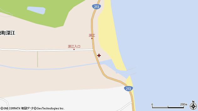 大分県国東市国東町深江1865周辺の地図