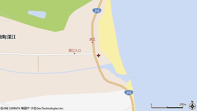 大分県国東市国東町深江1870周辺の地図
