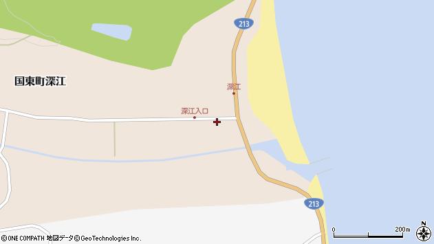 大分県国東市国東町深江1851周辺の地図
