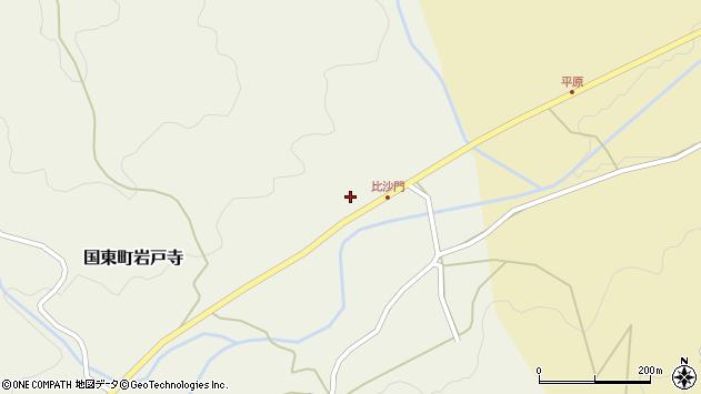 大分県国東市国東町岩戸寺2314周辺の地図