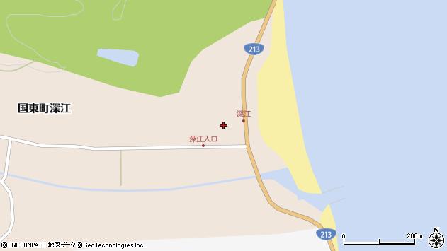 大分県国東市国東町深江1878周辺の地図