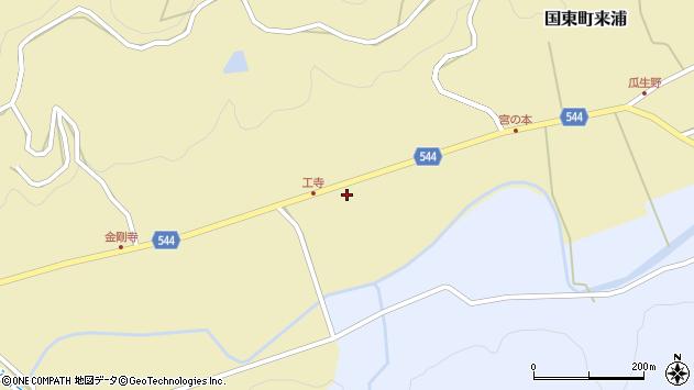 大分県国東市国東町来浦2335周辺の地図