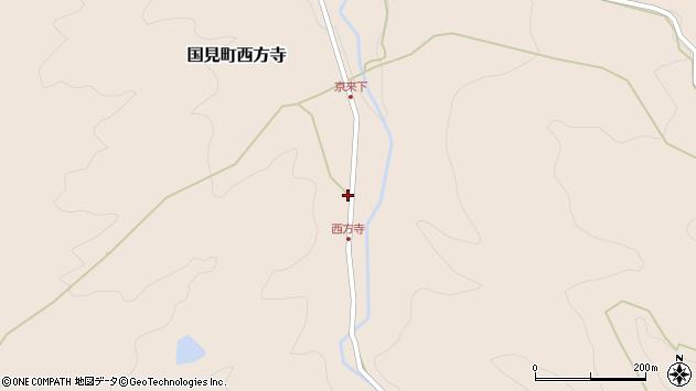 大分県国東市国見町西方寺1218周辺の地図