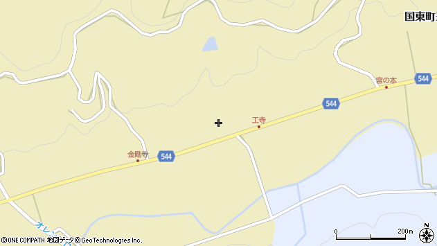 大分県国東市国東町来浦2238周辺の地図
