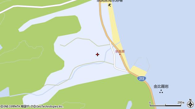大分県国東市国東町浜奈良原周辺の地図