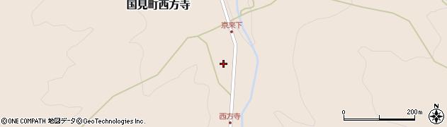 大分県国東市国見町西方寺1365周辺の地図