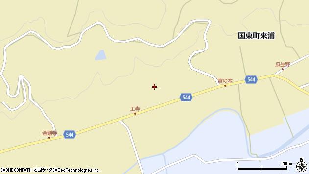 大分県国東市国東町来浦2510周辺の地図