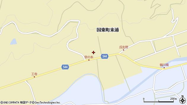 大分県国東市国東町来浦2692周辺の地図