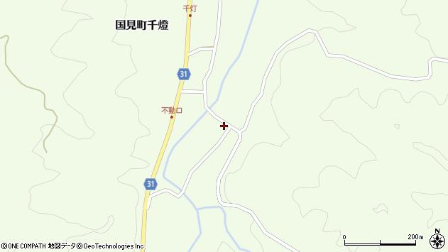 大分県国東市国見町千燈周辺の地図