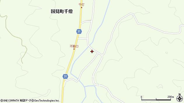 大分県国東市国見町千燈1172周辺の地図