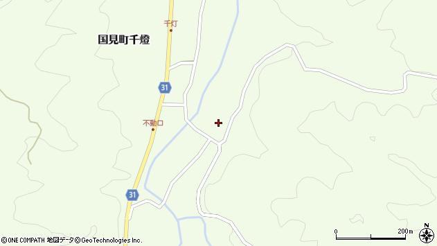 大分県国東市国見町千燈1167周辺の地図