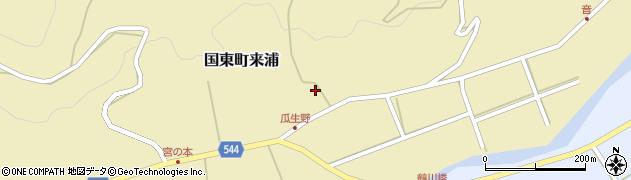 大分県国東市国東町来浦3134周辺の地図