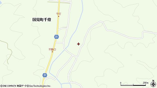 大分県国東市国見町千燈1147周辺の地図