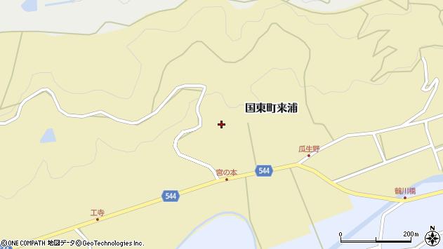 大分県国東市国東町来浦2662周辺の地図