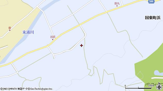 大分県国東市国東町浜2130周辺の地図