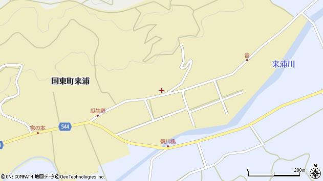 大分県国東市国東町来浦3158周辺の地図