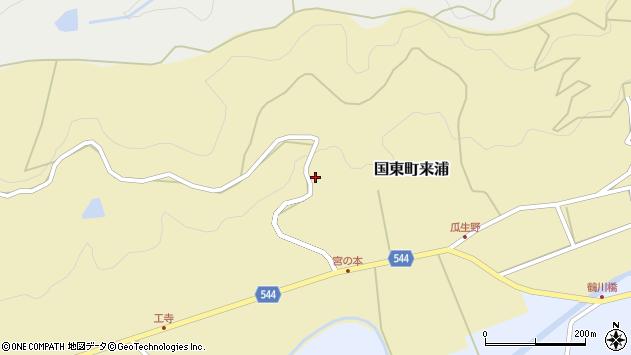 大分県国東市国東町来浦2651周辺の地図