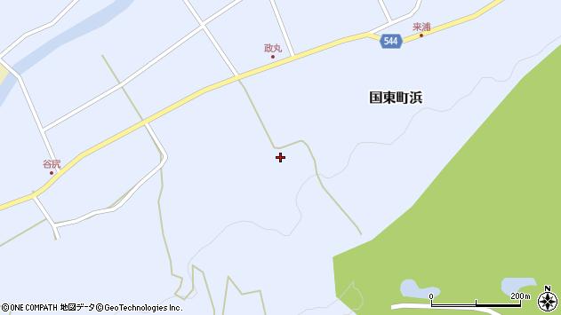 大分県国東市国東町浜4198周辺の地図