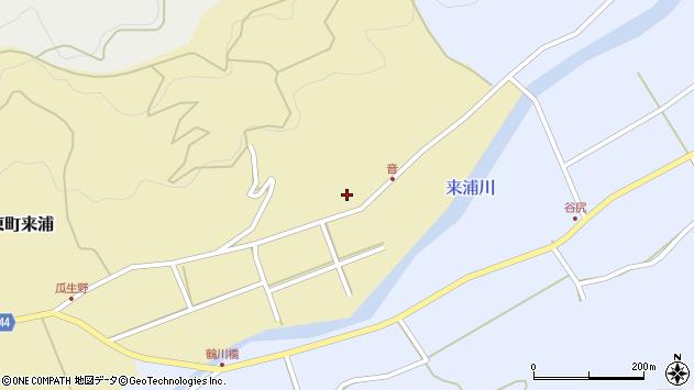 大分県国東市国東町来浦3391周辺の地図