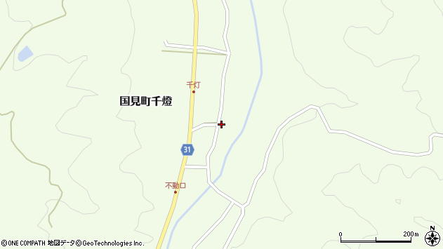 大分県国東市国見町千燈426周辺の地図
