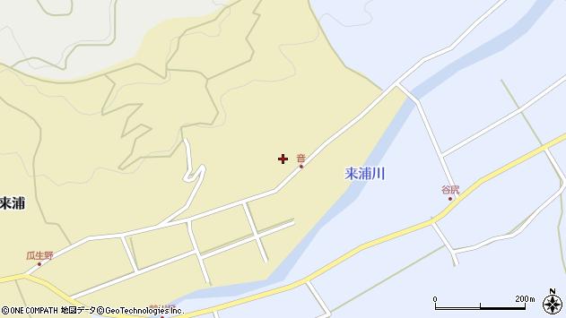 大分県国東市国東町来浦3578周辺の地図