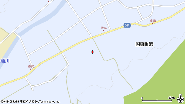 大分県国東市国東町浜4242周辺の地図