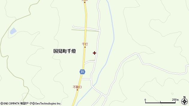 大分県国東市国見町千燈491周辺の地図