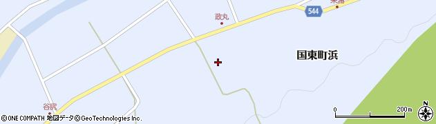大分県国東市国東町浜4146周辺の地図