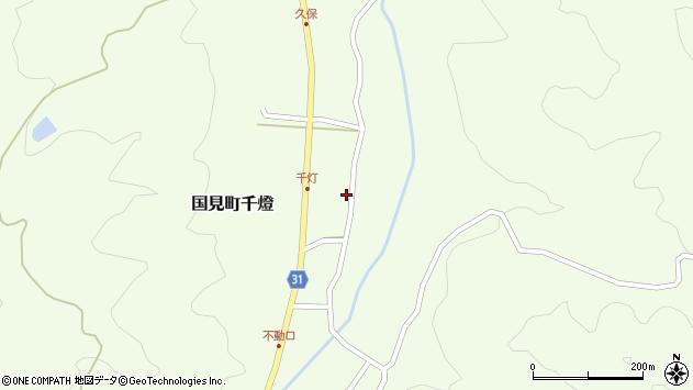 大分県国東市国見町千燈478周辺の地図