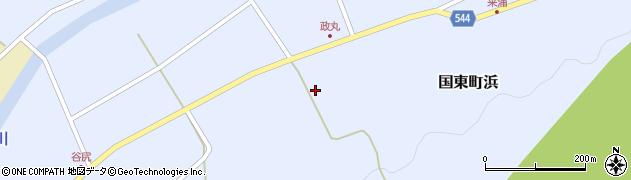 大分県国東市国東町浜4147周辺の地図