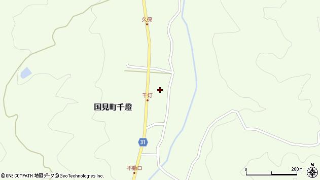 大分県国東市国見町千燈482周辺の地図