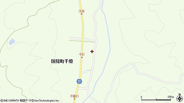大分県国東市国見町千燈483周辺の地図