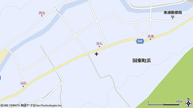 大分県国東市国東町浜4522周辺の地図