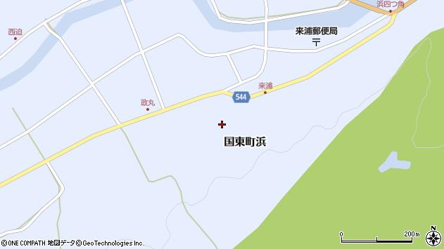 大分県国東市国東町浜4036周辺の地図
