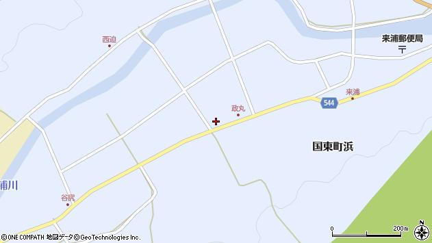 大分県国東市国東町浜4444周辺の地図